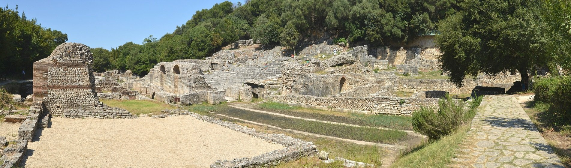 Agora at the ancient city of Butrint