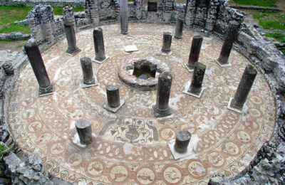 Baptistery in Butrint