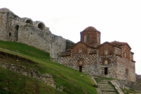 Holy Trinity church in Berat