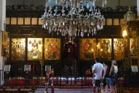 Iconostasis in Korce