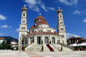 The cathedral of Korce
