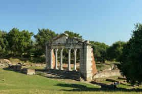 Monument of Agonothetes in Apollonia