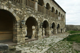 The monastery of Apollonia (now a museum)