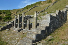 The nymphaeum in Apollonia