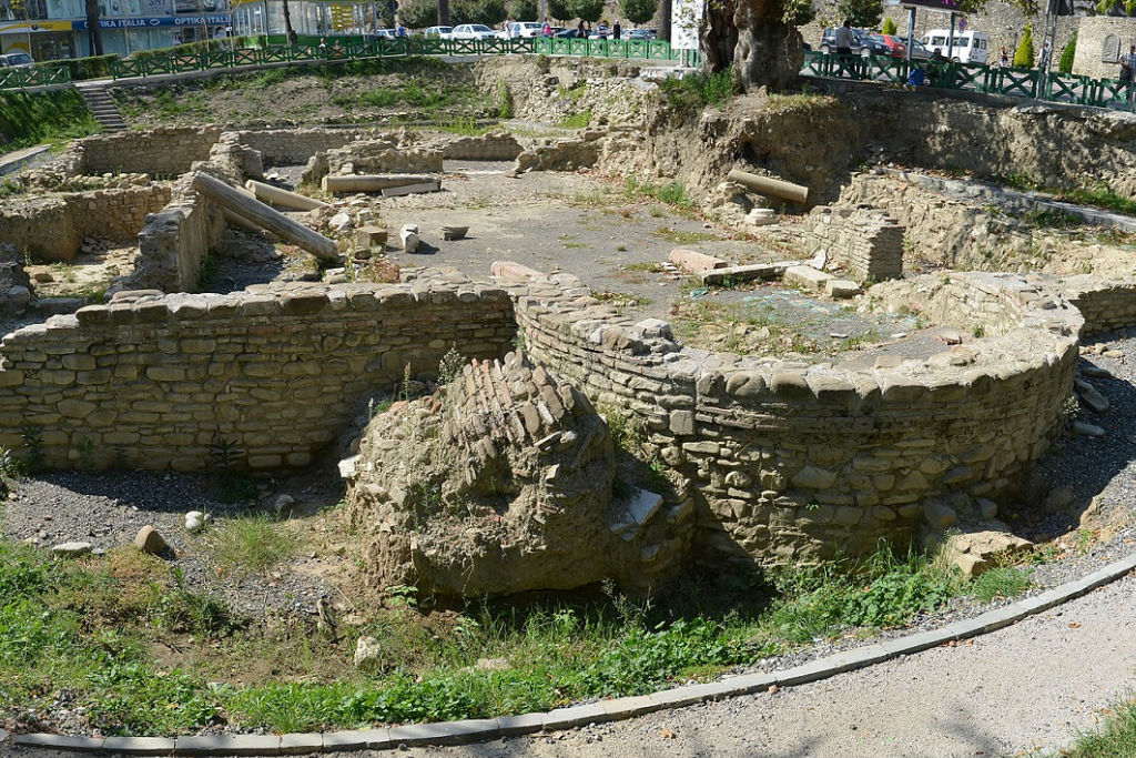 Paleochristian basilica in Elbasan