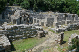 Sactuary of Asclepius in Butrint