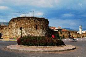 City wall in Elbasan