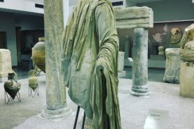 Exhibiton at the Archaeological Museum of Durres